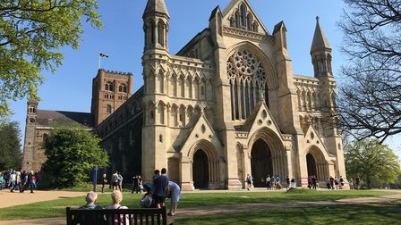 St Albans Cathedral. Picture: Alan Davies