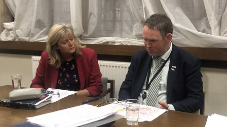 St Albans MP Anne Main met with aviation minister Paul Maynard to discuss Luton Airport's expansion.