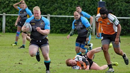 St Albans Centurions' Kristian Naylor. Picture: DARRYL BROWN