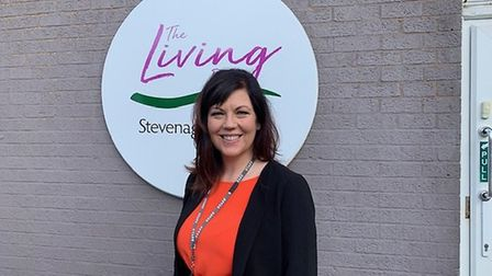 Adrienne Arthurs, chief executive of The Living Room which has partnered up with other services help