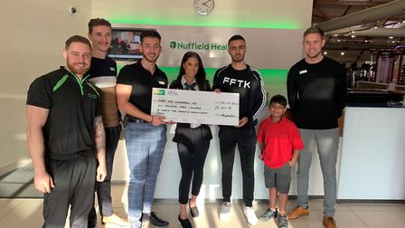 The Fight For The Kids event at Nuffield Health raised over £6000 for Save the Children. Picture: Ka