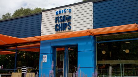 Eric's Fish and Chips St Ives is open from 12-9pm daily. Photo: Eric's Fish and Chips.