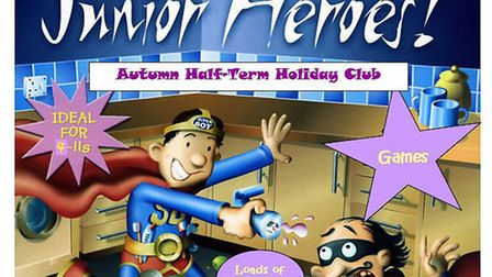 Junior Heroes Holiday Club will take place at Royston Methodist Church during the autumn half term.