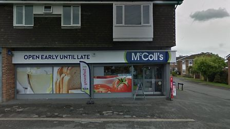 The new Post Office outlet is located in McColl's, in Bishops Road. Picture: GOOGLE