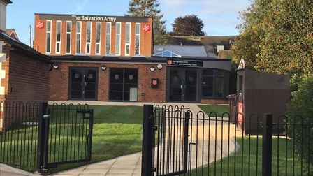 Harpenden Salvation Army's new building. Picture: Salvation Army