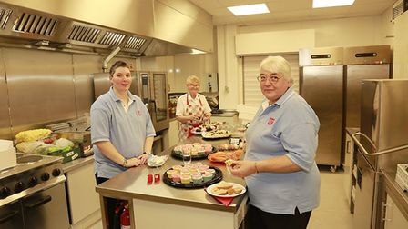 Volunteers celebrating the opening of Harpenden Salvation Army's new building. Picture: Salvation Ar