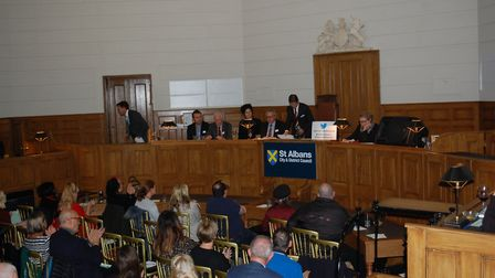 The St Albans Business Summit was held in the Georgian courtrooms at St Albans Museum + Gallery. Pic