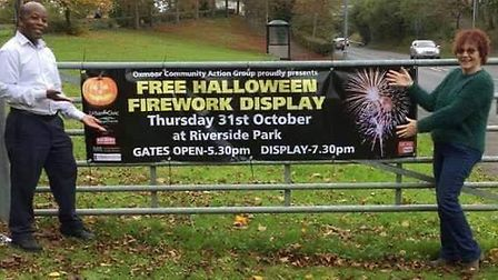 Halloween Firework's display this Thursday 31st October starting from 5.30pm at Huntingdon Riverside