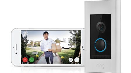 Ring Video Doorbell Elite, £449. Picture: Ring/PA