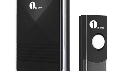 1byone Easy Chime Wireless Doorbell Kit, £10.99. Picture: 1byone/PA