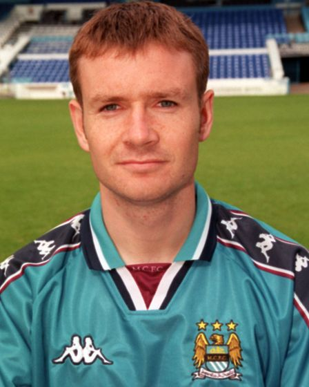 Craig Russell in 1998 when he was with Manchester City. Picture: DAVE KENDALL/PA