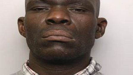 Samuel Boateng was jailed for a year for a series of bike thefts from St Albans and Harpenden statio