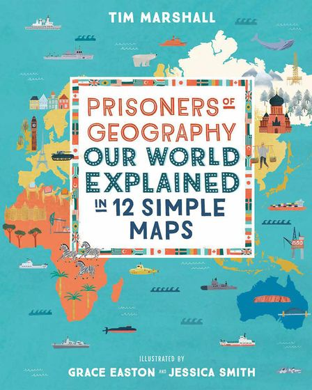 St Albans-based illustrator Grace Easton worked on 'Prisoners of Geography: Our World Explained in 1