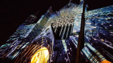 St Albans Cathedral Space Voyage. Picture: Emma Collins