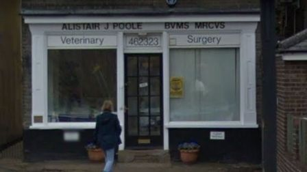 Alistair Poole vet surgery in Harpenden. Picture: Google Street View