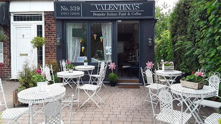 Valentina's in Chiswell Green.