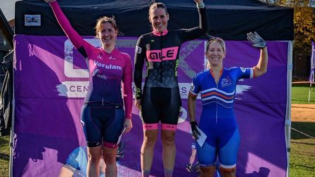 Rachel Dunn of Verulam Reallymoving was second in the V40 women's race at round seven of the Central