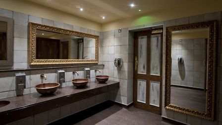 The toilets at Sandford House, in Huntingdon, won a Loo of the Year award
