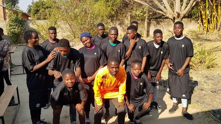 St Columba''s College, with the help of KitAid and Watford FC, delivered football kits to students a