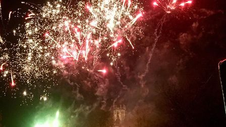 Firework displays in the Huntingdonshire area