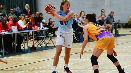 Anneke Schluter had a superb day for Oaklands Wolves against Caledonia Pride. Picture: LELLO AMETRAN