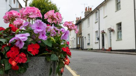 Some of Welwyn's characterful housing. Picture: DANNY LOO