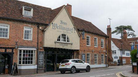 The Wellington pub, High Street, Welwyn. Picture: DANNY LOO