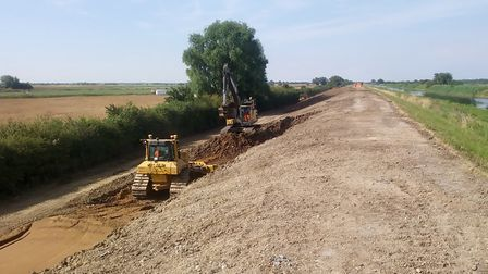 The Environment Agency has completed the third phase of Ouse Washes work. Picture: CONTRIBUTED