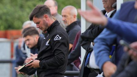 St Neots Town boss Marc Abbott has drafted in a host of new signings. Picture: DAVID R. W. RICHARDSO