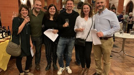 The It's OK To Say mental health awareness campaign was the beneficiary of the Flagship Wines autumn