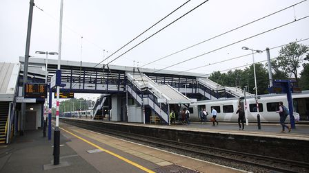 A trespasser on the Thameslink line near Harpenden is causing delays between St Albans City and Luto