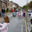 Children in St Albans played in the street on World Car Free Day, and councillors are proposing a si