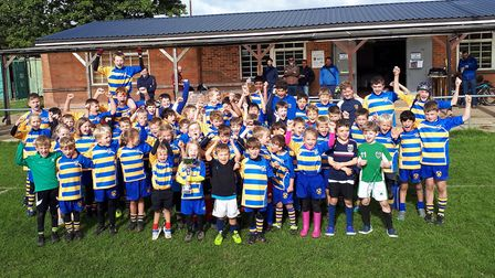 St Albans Rugby Club's minis and youths were crowned best club at a day-long festival at Barnet Eliz