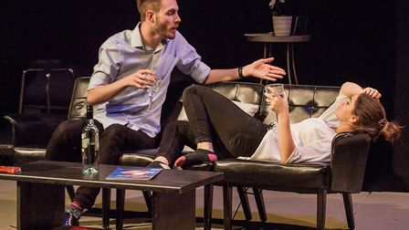 Company of Ten's production of Dealing with Clair at the Abbey Theatre Studio. Picture: Nick Clarke