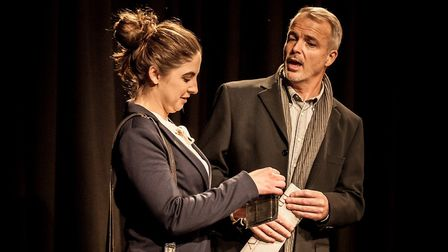 Company of Ten's production of Dealing with Clair at the Abbey Theatre. Picture: Nick Clarke / Abbey