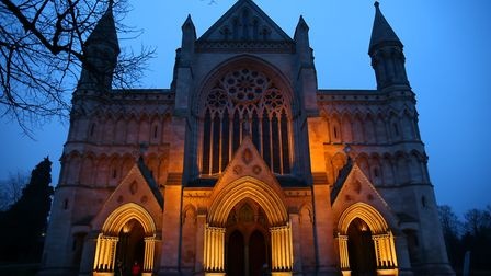 St Albans Cathedral. Picture: DANNY LOO