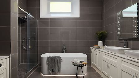 One of the bathrooms at Welcombe House. Picture: Fairview New Homes
