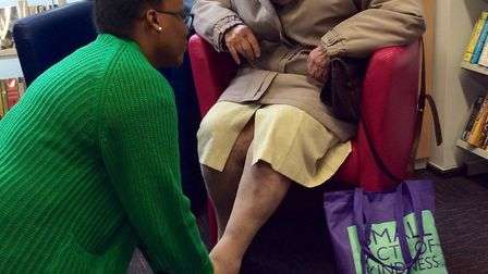 A Slipper Swap event is being held at St Albans Library and Oakmere Library in Potters Bar. Picture: