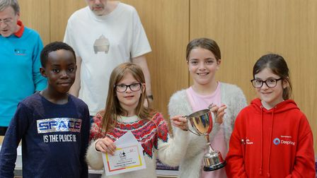 Pupils from Harpenden Academy scooped awards at the UK Go Championships in Cambridge. Picture: Harpe