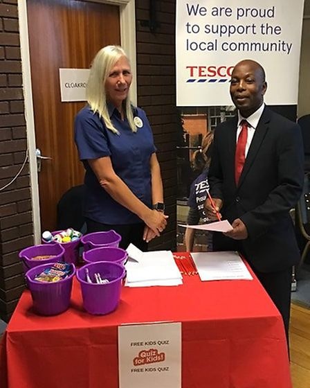 The Huntingdonshire Community Group in partnership with Cambridgeshire Constabulary held their first
