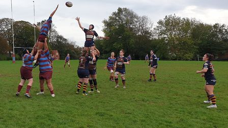 OA Saints fell to their first defeat of the Women's Championship South season when they lost at Hove