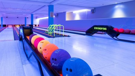 STRING PINS ten-pin bowling at One Leisure St Ives is suitable for all ages and costs £4.50 per pers