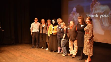 The Funding Network in Herts raised more than £14,000 for charities at an event in the Alban Arena,