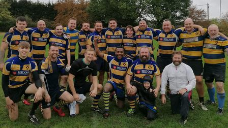 St Albans Rugby Club's third team played a typically enjoyable game against Hitchin.