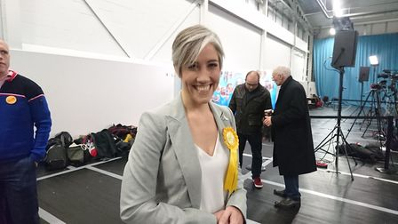 Daisy Cooper, the Liberal Democrat candidate for St Albans. Picture: Anne Suslak