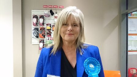 Anne Main, the Conservative candidate for St Albans. Picture: Anne Suslak