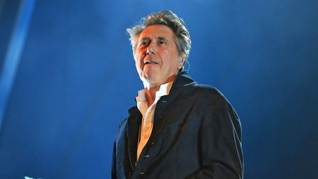 Bryan Ferry will play Newmarket Nights on Friday, June 26, 2020. Picture: KEVIN RICHARDS