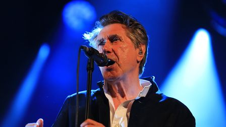 Bryan Ferry playing Standon Calling Festival 2018. He will headline Newmarket Nights in 2020. Pictur