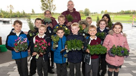 The allotments are currently home to the schools weekly Nature Club, where students can learn all ab