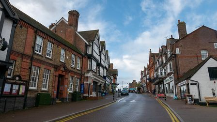 High Street, Tring. Picture: DANNY LOO